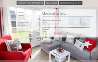 Kunden Ferienwohnung, Webdesign / Marketing