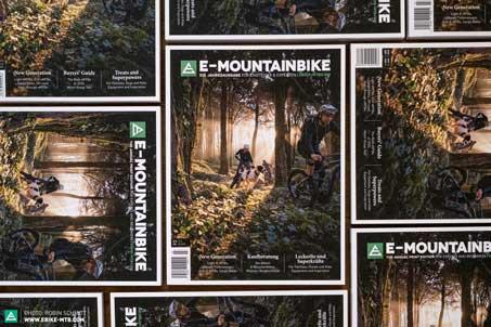 E-MOUNTAINBIKE-Print-Edition-2020, beteiligt an Lektorat, Redaktion