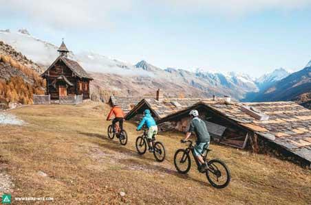E-MTB Tourenabieter Aletschregion, Schweiz E-ALPS