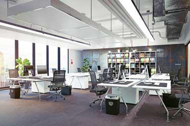 Großraumbüros und RLT-Anlagen mit Filtertechnologie
