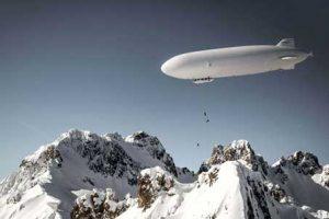 Zeppelin Skiing